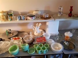 Jadeite and other glass  treasures