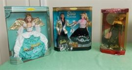 DDC006 First & Special Edition Collectible Barbies New in Box