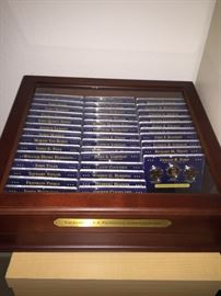 THE COMPLETE COLLECTION U.S. PRESIDENTIAL COINS COLLECTION