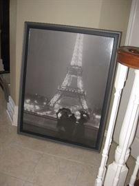 Large Paris print