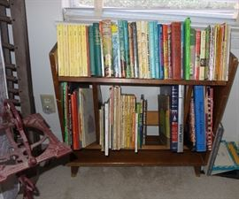 Books: children's, coffee table, Scouting, early Dr. Seuss, old Golden
