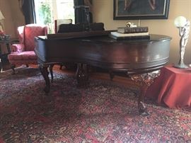 Beautiful Conover Piano. A Beautiful and rare chance to own a rare and fantastic piece at a superb price! This was a high grade of piano manufactured by J. Frank Conover who was considered by many one of the worlds great piano makers. Located in the heart of piano country, Mr. Frank Conover devoted more than forty years of his life to the study of a single problem - tone. The Conover scale design is still imitated by many factories.