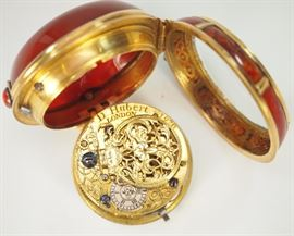 Necessaire watch D. Hubert London 1743