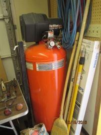 5 HP 60 gallon air compressor