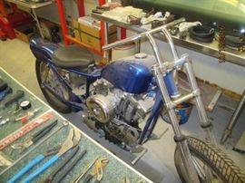 1975 Harley Davidson Iron Head Sportster