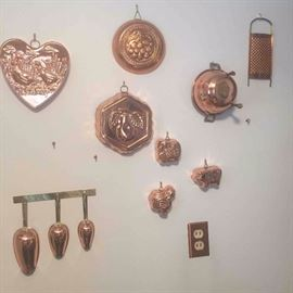 Copper Kitchen decorations
