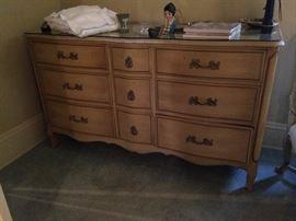 #29 French Provencal beige dresser no mirror 60x22x36 $175