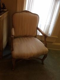#8 French Provencal cream side chair $175 — at Calhoun Ave Hsv 35801 call 256-508-588two.