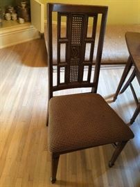 #59 JS Consolidated furniture dining table w/ four chairs 60x41 $175 — at Calhoun Ave Hsv 35801 call 256-508-588two.