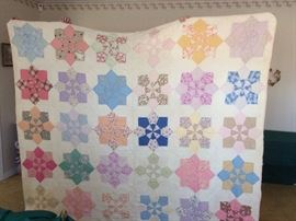 ##42 Full Octangle star quilt $50 — at Sherwood Dr Hsv 35802 Call 803-354-293three.