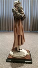 Giuseppe Armani Statue Young Lady wYorkshire