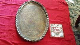 Turkish Brass Platter