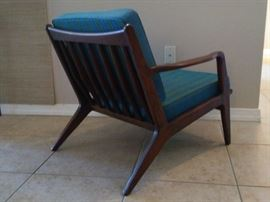Vintage Selig Larsen lounge chair, photo 2.
