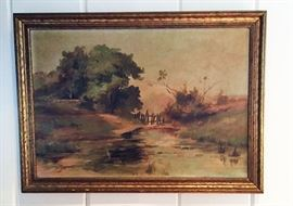 Original oil on panel