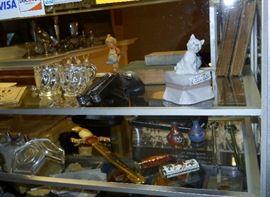 Lladro, Hummel, Cloisonné, sword, coins, etc.