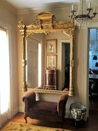 1800s. From a magnificent home in Nob Hill, San Francisco.  Passed on to three generations. Absolutely spectacular!