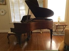 Kimball Chicago baby grand piano! Baby, it's Grand!