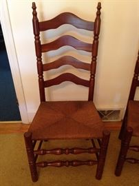 Maple Rush Seat Ladder Back Chair - 1 of 3