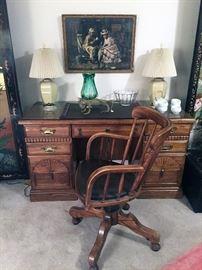 Secretary Combo Desk