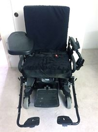 "Pronto ""Sure Step"" Motorized Wheelchair"