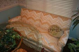 Retro yellow sofa - great condition