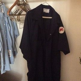 Mobil oil employee coveralls with Pegusus patch