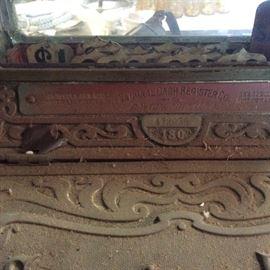 NCR Art Nouveau store cash register