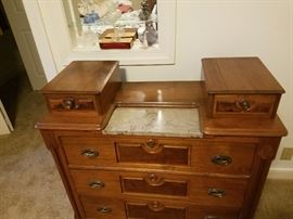 Eastlake dresser