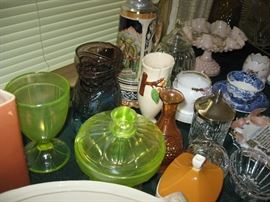 Vaseline glass and more