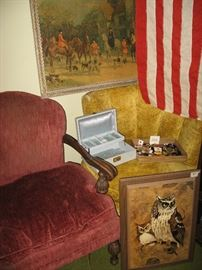 Midcentury chairs