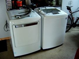 L. G. automatic washer and electric dryer, only two years old in excellent condition.