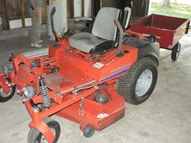 Simplicity Zero-turn riding lawn mower and accessories