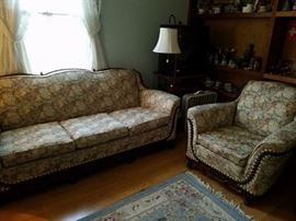 1920's couch and chair