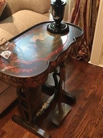 Vintage painted table