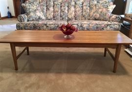 Coffee Table with two matching end tables