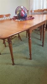 Table legs...