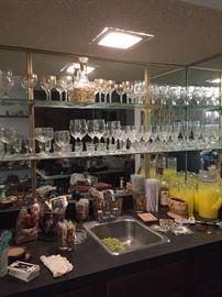 Great MID CENTURY bar ware