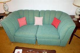 Vintage Kroehler 3-piece sectional sofa (makes sofa or loveseat and chair)