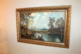 Large original oil painting