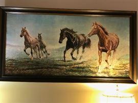 Large horse print