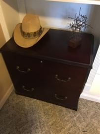 Wood Filing Cabinet (2 available)