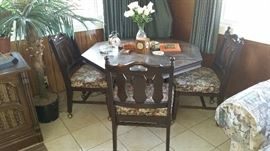 Spanish Revival 5 pc Kitchen table set