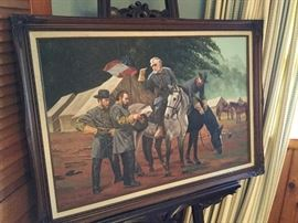Original oil on canvas of Robert E. Lee