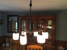 Mid-century modern light fixture