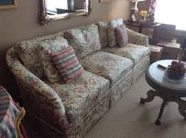 Hickory Chair Sofa - Lovely floral pattern