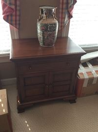 Colonial Cherry Library Storage Cabinet