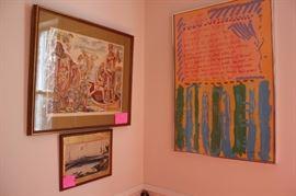 Sam Maitin and other artwork