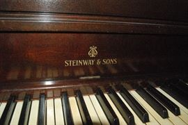 antique-steinway  upright- needs little tlc -but its a steinway !!!
