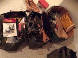 BUNCHES OF TOOLS YET TO BE GONE THROUGH