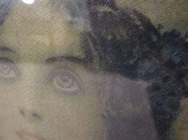 Detail of victorian ladies